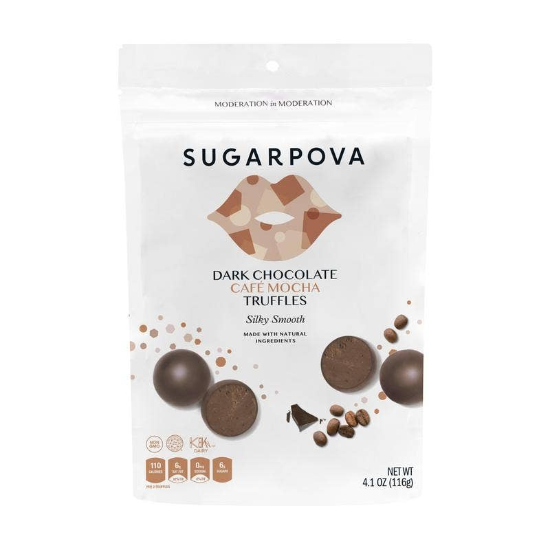 Dark Chocolate / Café Mocha Truffles || Sugarpova || Beautybar