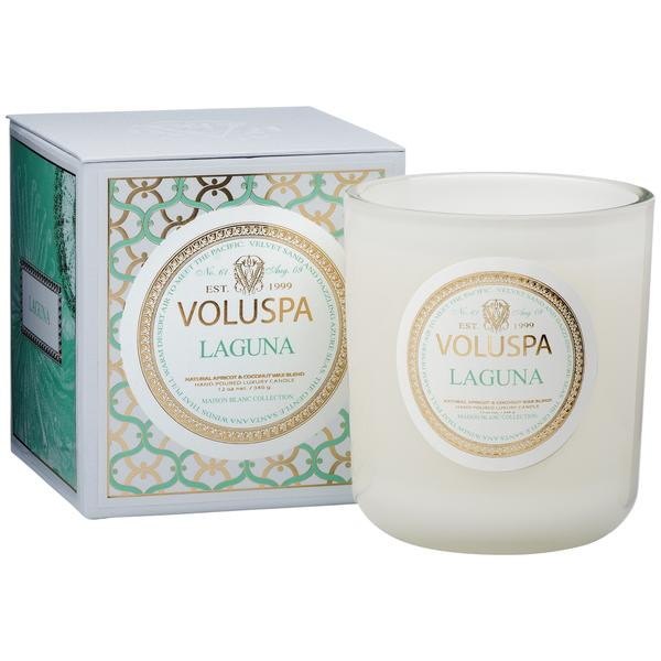 laguna maison candle | maison blanc collection || voluspa