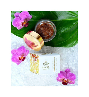 botany beauty cleansing polish || malie organics