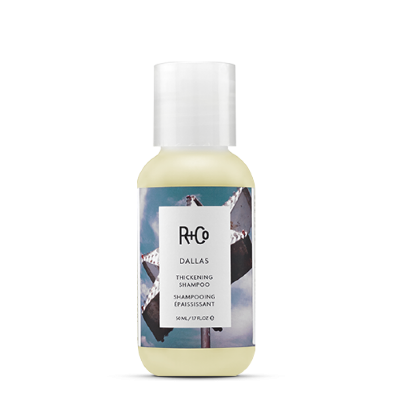 dallas thickening shampoo – travel size || r+co || beautybar