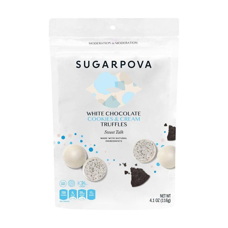 White Chocolate/Cookies & Cream Truffles || Sugarpova