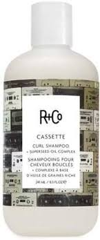 cassette curl shampoo + superseed oil complex || r+co || beautybar