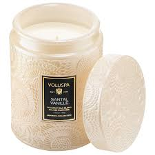 Santal Vanille | Small Glass Jar Candle | Japonica Collection