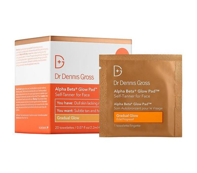 alpha beta gradual glow pad for the face || dr. dennis gross