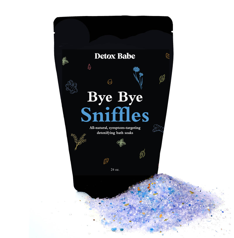 Bye Bye Sniffles All-Natural Bath Soak || Detox Babe || BB