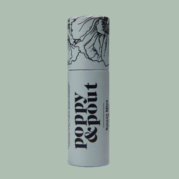 Sweet Mint Lip Balm || Poppy & Pout || Beautybar