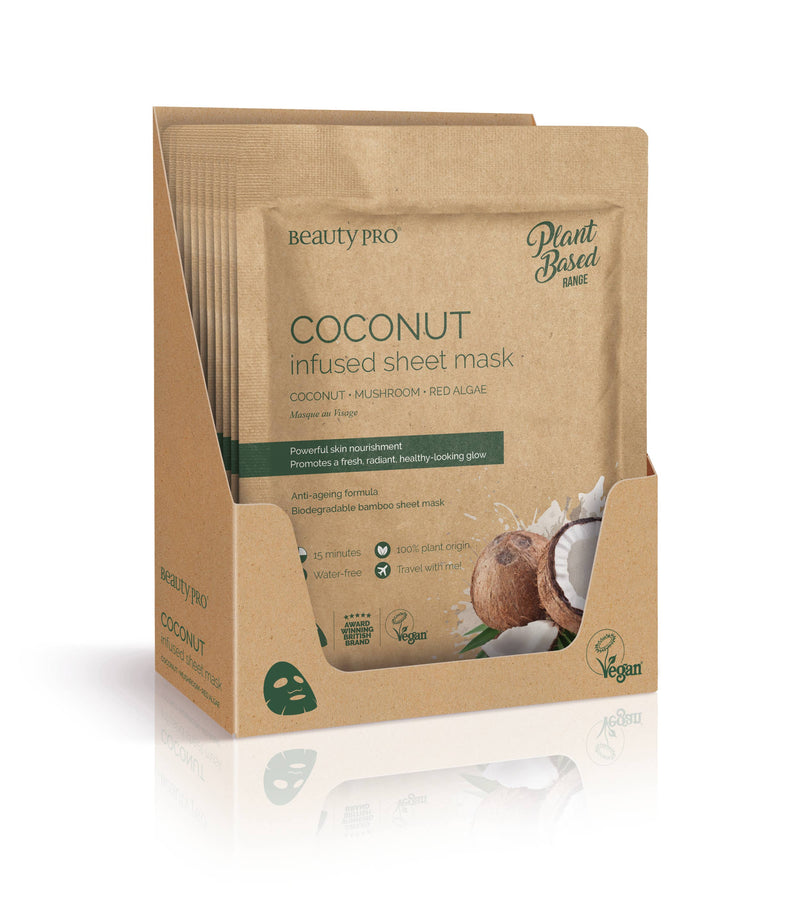COCONUT Infused Sheet Face Mask || BeautyPro || Beautybar