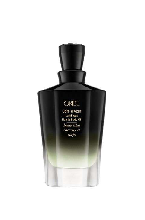 côte d'azur luminous hair & body oil || oribe || beautybar