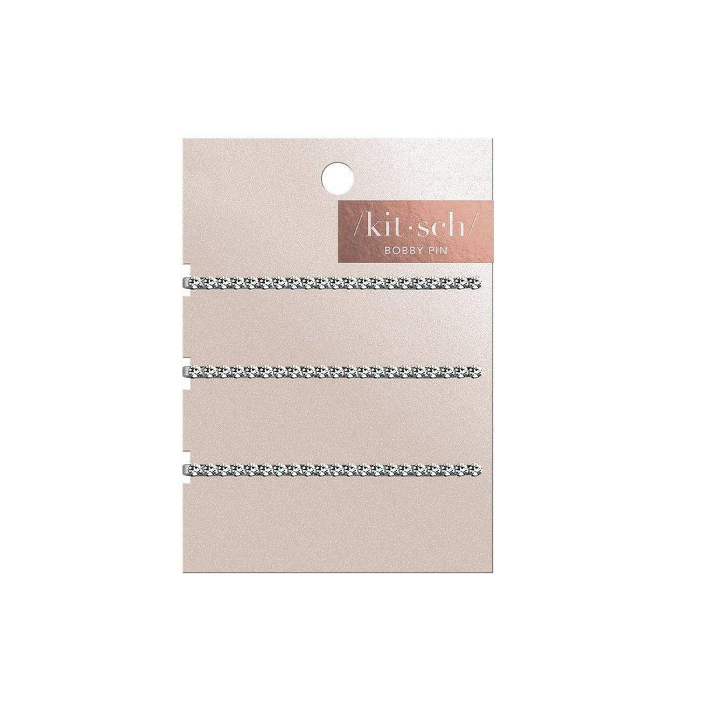 3pc rhinestone bobby pin set || kitsch || beautybar