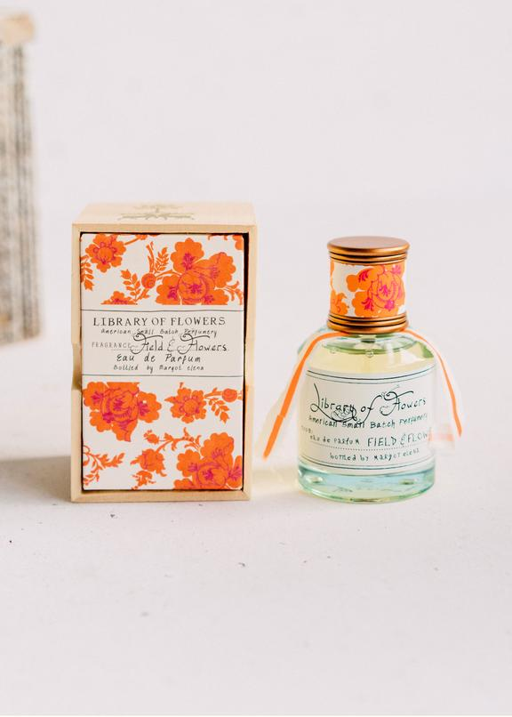 field & flowers edp || library of flowers || beautybar