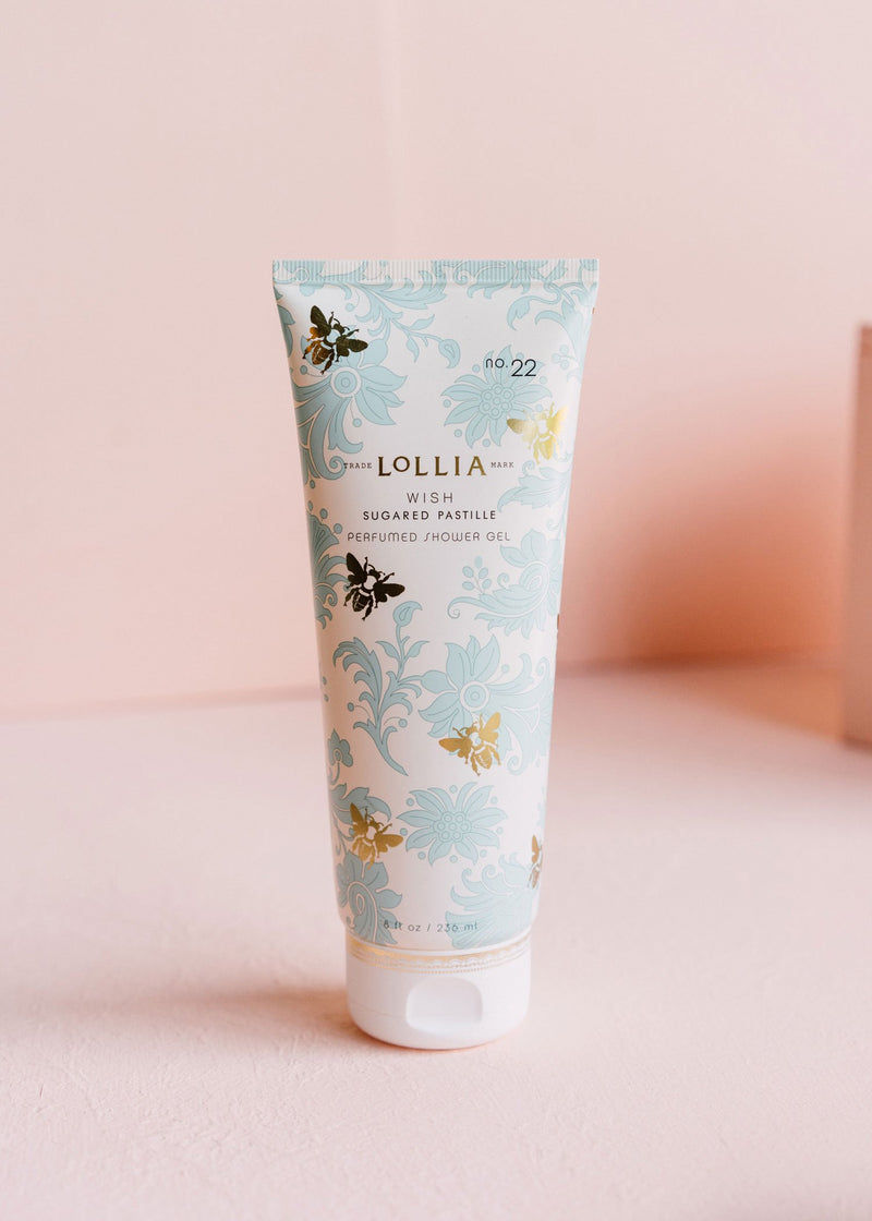 wish perfumed shower gel || lollia || beautybar