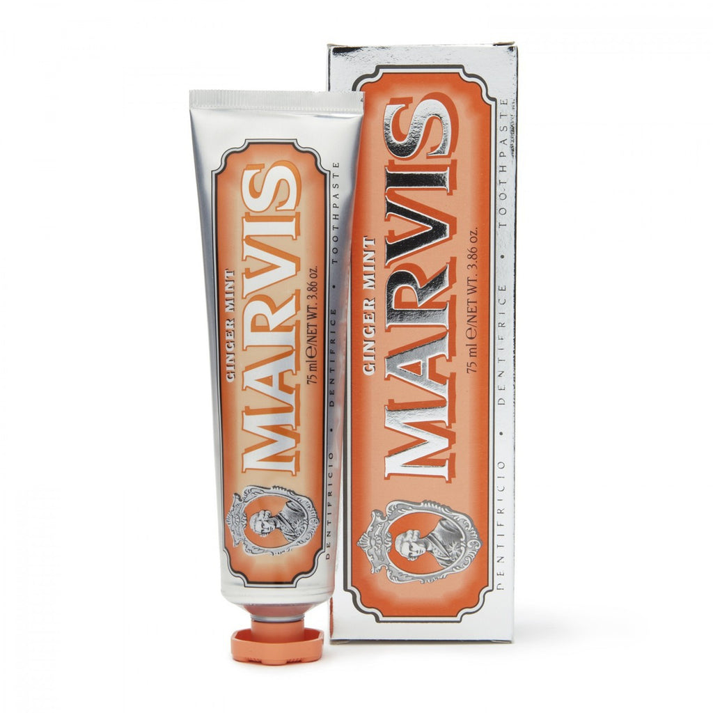 ginger mint travel size toothpaste || marvis || beautybar