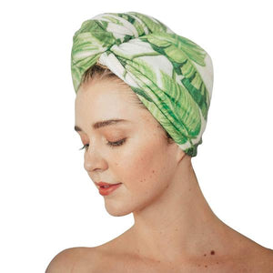 microfiber hair towel || kitsch || beautybar