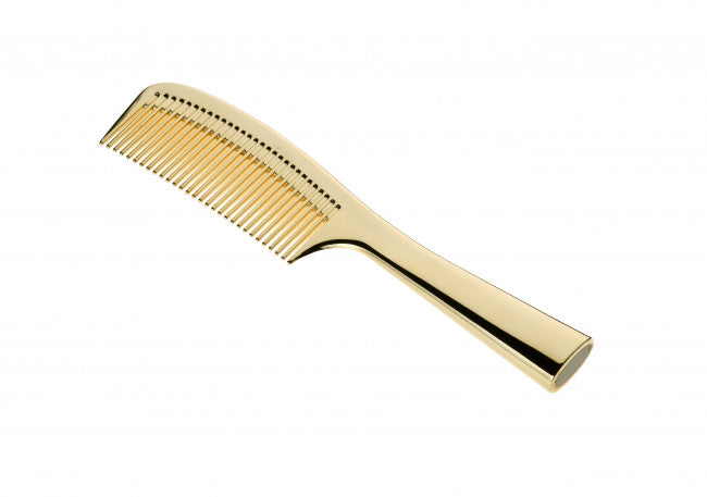 acca kappa gold hair comb