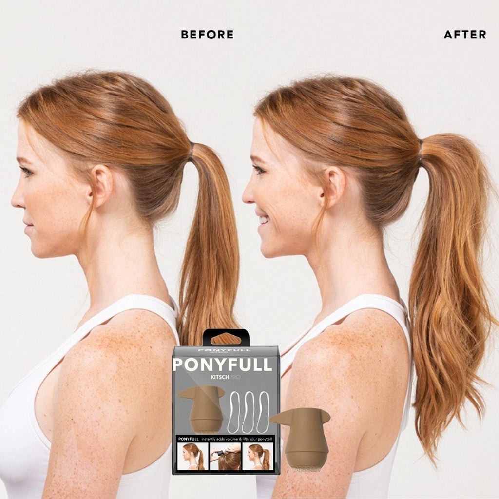 ponyfull ponytail volumizer || kitsch || beautybar