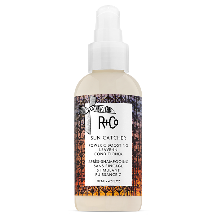 sun catcher vitamin C leave in conditioner || r+co