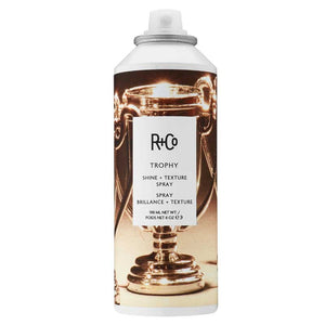 trophy shine + texture spray || r+co || beautybar