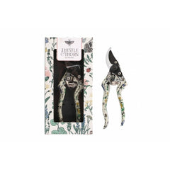 thistle & thorn bypass secateurs with floral handles