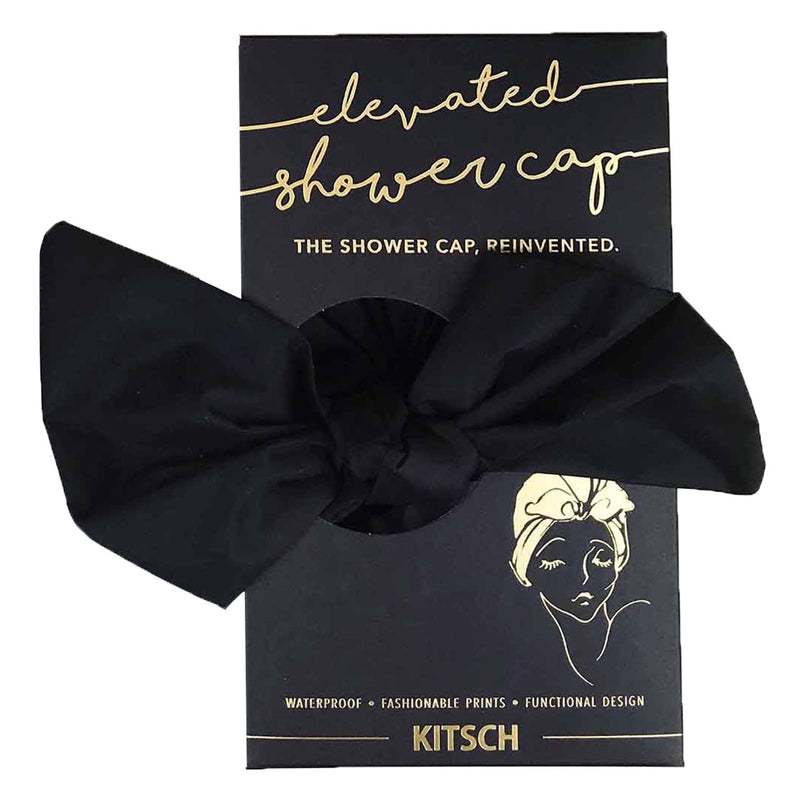 luxe shower cap || kitsch || beautybar