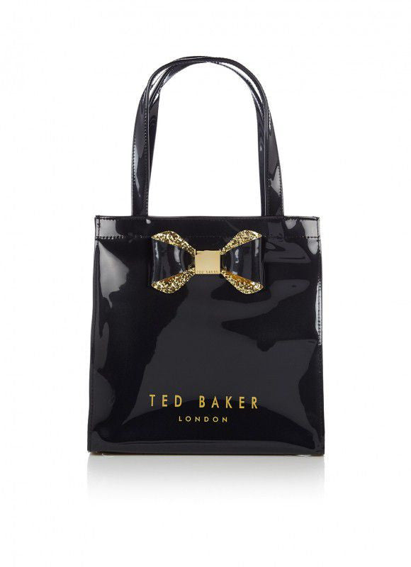 sparkon small tote - black || ted baker || beautybar