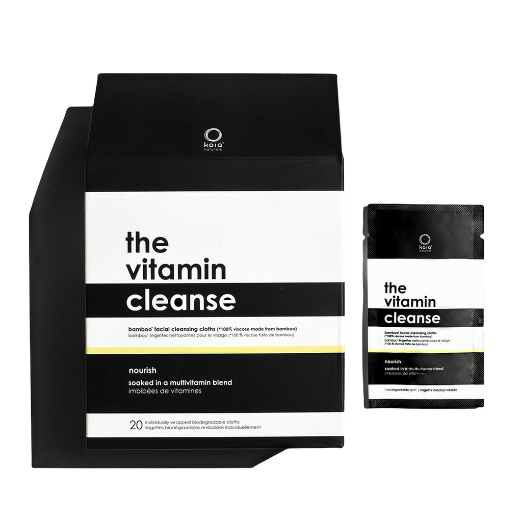 the vitamin cleanse (juicy bamboo facial wipes)