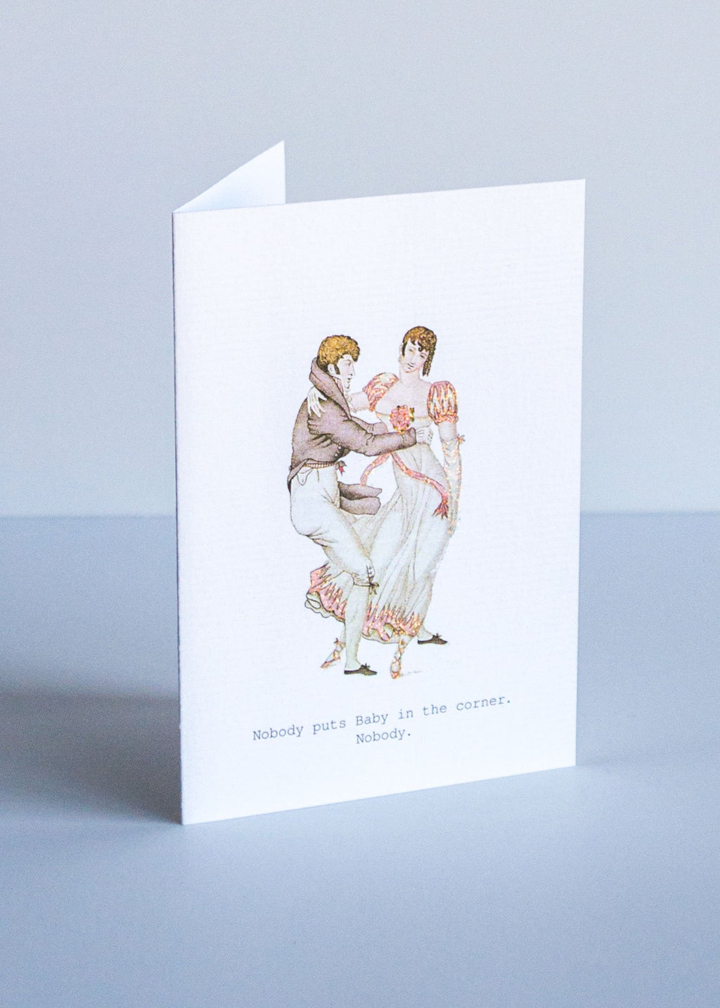 baby in the corner greeting card || tokyomilk || beautybar
