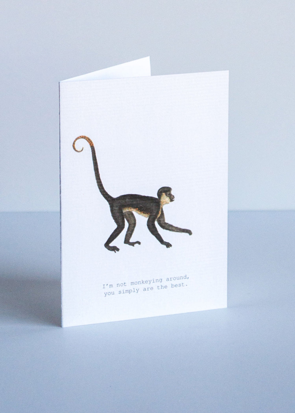 monkeying around greeting card || tokyomilk || beautybar