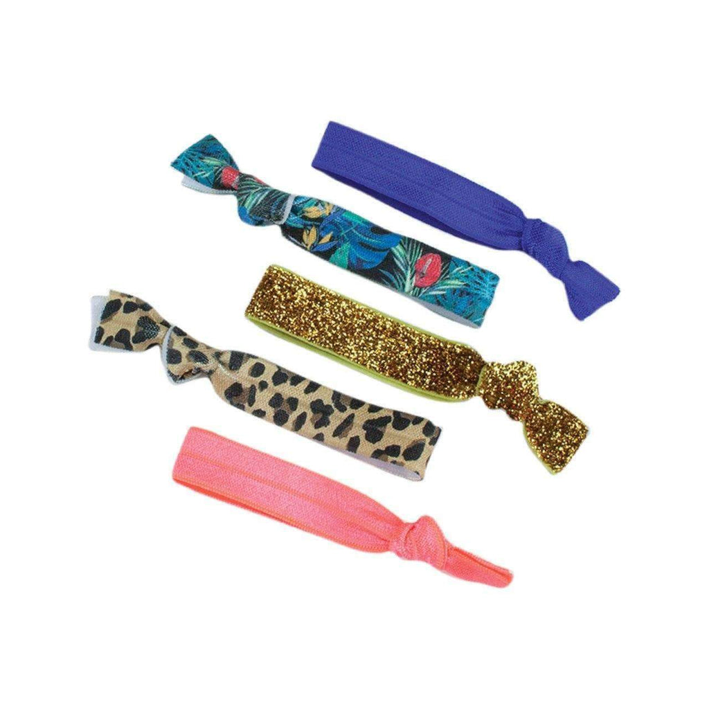 5 piece hair tie set