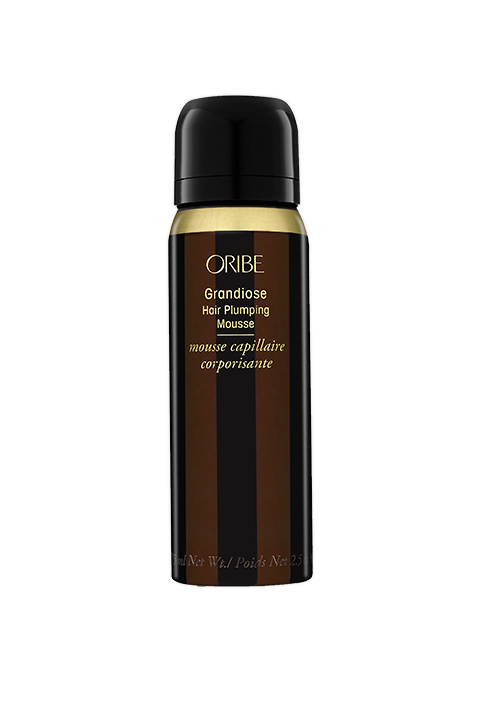 grandiose hair plumping mousse purse spray || oribe