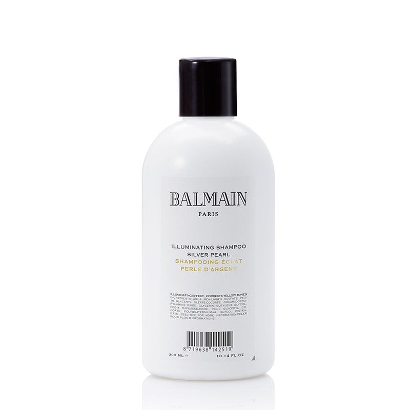 balmain hair couture illuminating shampoo silver pearl