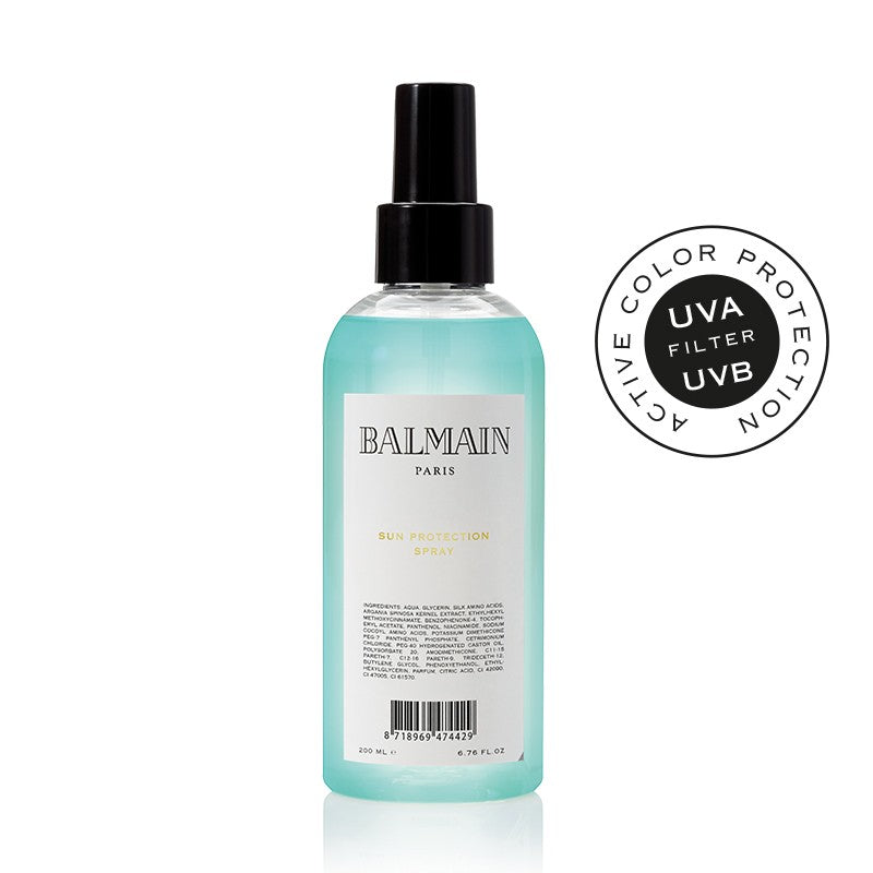 balmain hair couture sun protection spray