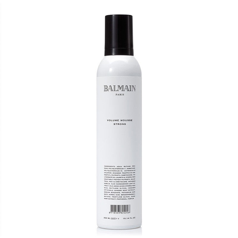 balmain hair couture volume mousse strong