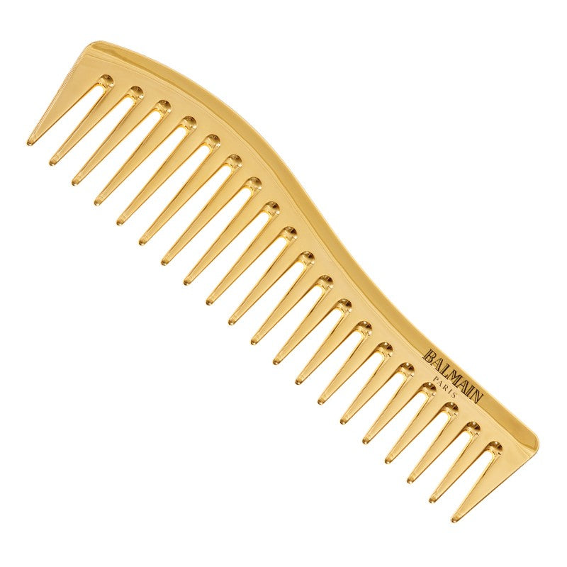balmain hair couture gold styling comb