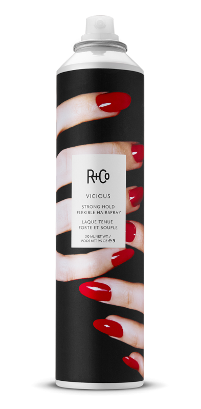 vicious strong hold flexible hairspray || r+co || beautybar