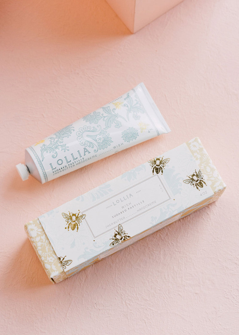 wish shea butter handcreme || lollia || beautybar