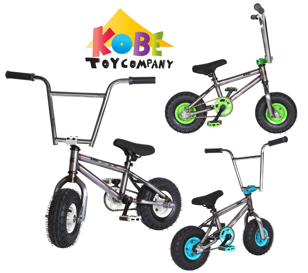 Kobe Rusty Rat Rod Mini BMX Bike - 3 Color Choices
