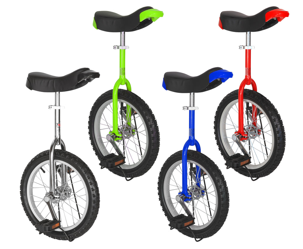 "Freestyle Unicycle 16"" Wheel 4 Colors Choices"