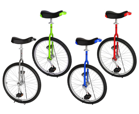 "Freestyle Unicycle 24"" Wheel 4 Colors Choices"