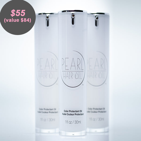 Pearl Hair Oil - Three times the fun!