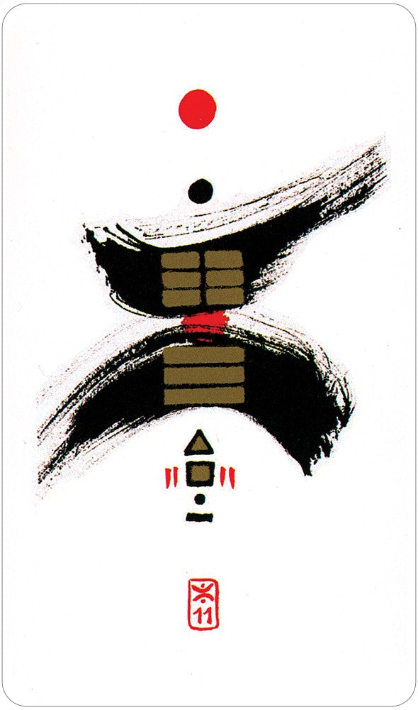 I Ching tarot deck