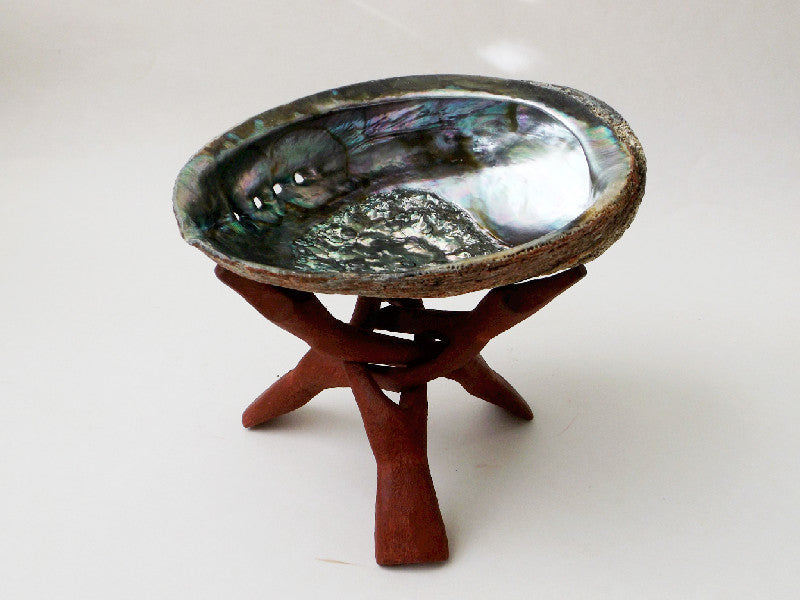 Abalone Shell with Stand - Esoteric Aroma
