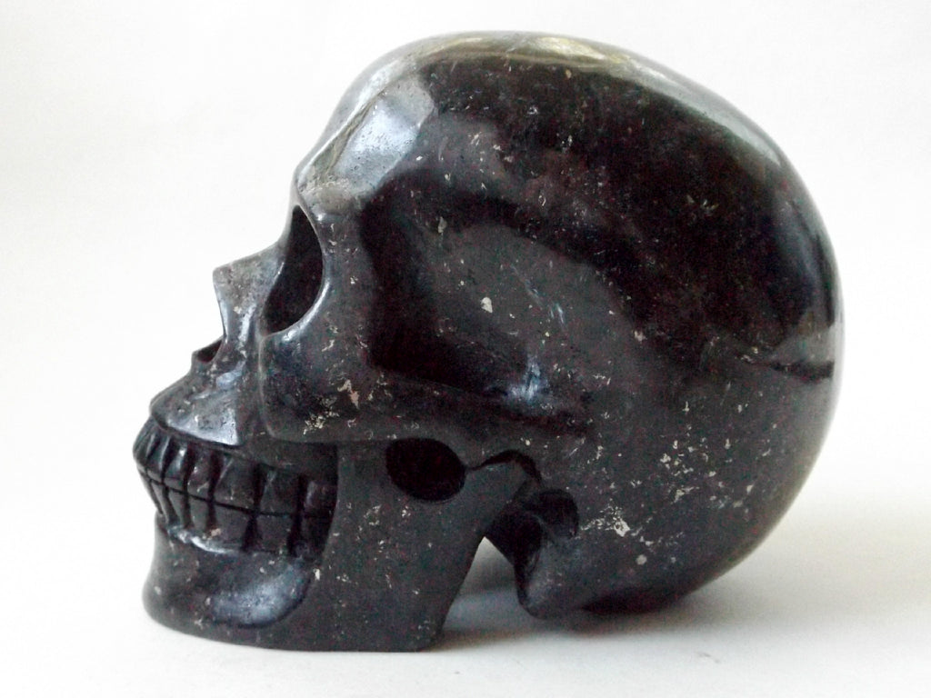 Russian Arfvedsonite Crystal Skull - Esoteric Aroma