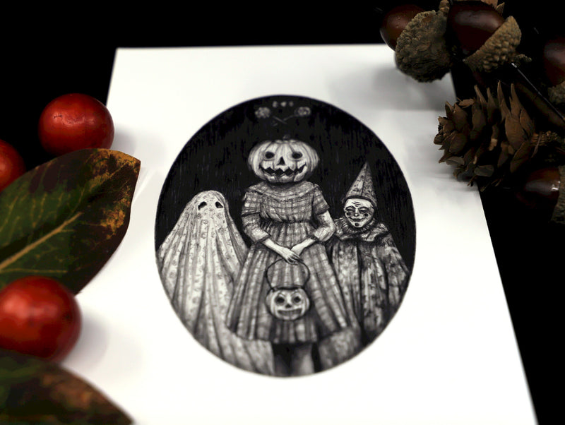 Trick or Treat art print - Esoteric Aroma