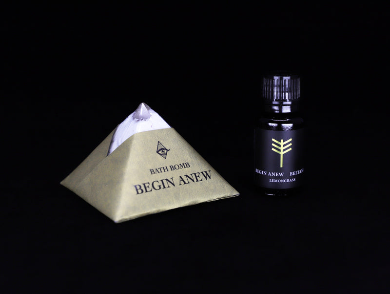 Begin Anew Beltane bath set