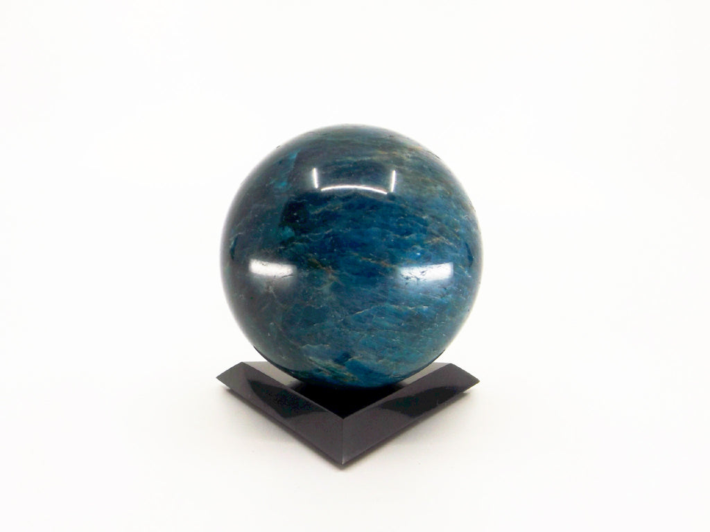 Blue Apatite crystal sphere - Esoteric Aroma