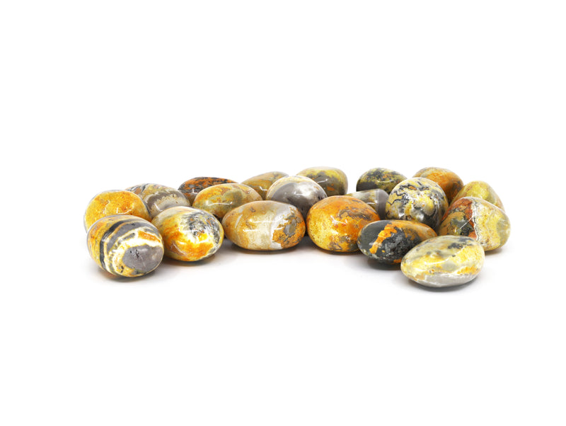Bumble Bee Jasper polished crystal - Esoteric Aroma