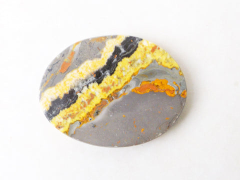 Bumble Bee Jasper Palm Stone - Esoteric Aroma