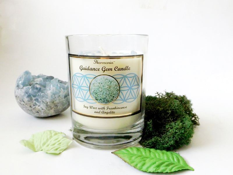 Guidance gemstone soy candle - Esoteric Aroma