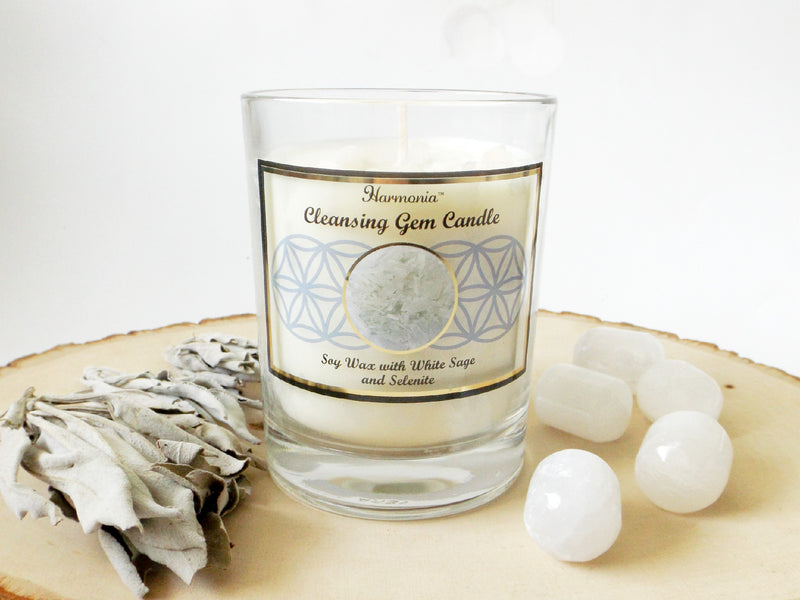 Gemstone Soy Candle - Cleansing