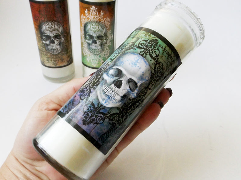 Day of the Dead jar candle - Esoteric Aroma